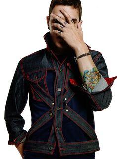 Jean Paul Gaultier + Levis Jeans Jacket