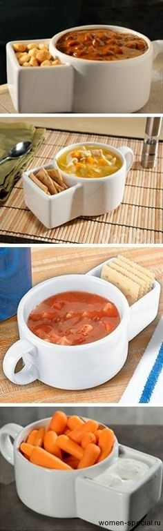 кухонная утварь I would redesign this and have the cracker holder go a   little around the cup