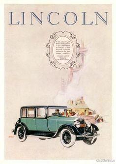 1926 Lincoln 4 Pass Lebaron.  Visit  http://holmestuttlelincoln.net/