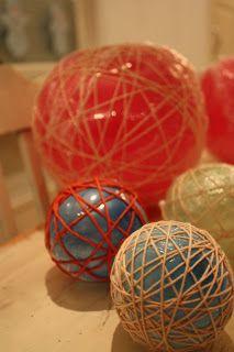 Milla tuunaa: Jouluksi narupalleroita Easter Eggs