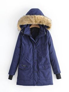 572136560e0c5e Outerwear. Laceshe Women s Winter Fur Hooded Warm Outerwear. Lisa Marie ·  Down jackets