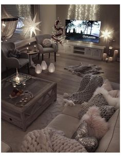 Living Room Themes, Living Room Decor Cozy, Living Room Color Schemes, Elegant Living Room, Living Room Grey, Living Room Designs, Colour Schemes, Modern Living, Cozy Bedroom
