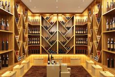 There are several essential aspects that have to be taken into consideration when creating your own luxurious wine cellar. wine cellar How to start your Wine Cellar Project Wine Cellar Racks, Wine Rack, Wine Cellars, Wine Vault, Wine Cellar Design, Drink Photo, Modern Architects, Architectural Features, Wine Storage