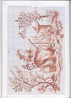cross stitch De fil en aiguille No. 26 13 by V. Enginger