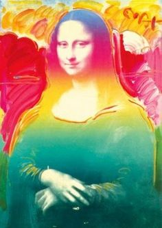 Peter Max's Mona Lisa.