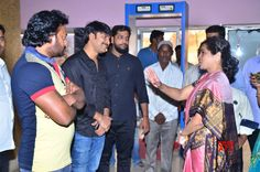 Raja The Graet Movie Team At Sudarshan For Theatre For Blind People Special Show Gallery - Social News XYZ