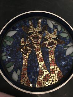 Giraffe Mozaic tray