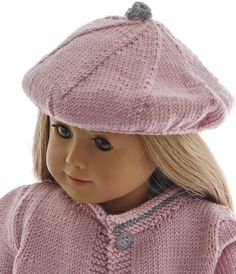 18 inch doll dress knitting pattern - Lovely summer clothes for happy, bright summer-days Knitting Dolls Clothes, Girl Doll Clothes, Girl Dolls, Crochet Doll Dress, Knitted Dolls, Knitted Hats, Doll Dress Patterns, Clothing Patterns, Baby Hat Knitting Pattern
