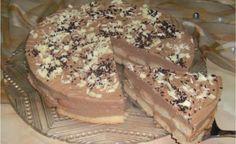 Čokoládová torta s piškótami, bude vždy patriť medzi najobľúbenejšie recepty Kolaci I Torte, Croatian Recipes, No Bake Desserts, No Bake Cake, My Recipes, Recipies, Nutella, Tiramisu, Cheesecake