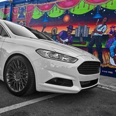 All about that music in the south  _______________________________________________ #2gfusions #fusionnation #ford #fordfusion #fordmondeo #fordsofinstagram #whoreyourford #fordfriends #ecoboost #steeda #plastidip #nichenation #nichewheels #nicheroadwheels #michelin #tlf #thelightingfirm before the new #grill was installed #batonrouge #art #louisiana #frontendfriday #fef by boomerang803