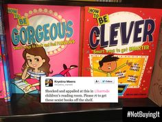 Gender stereotypes much? #NotBuyingIt