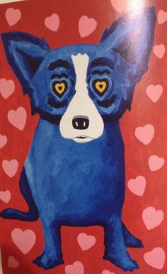 George Rodrigue's Blue Dog