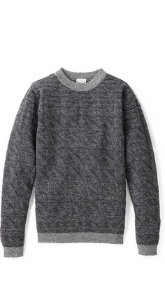 "SNS Herning ""Distance"" grey sweater"