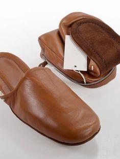 Leather slippers at Grailed   Men's Designer & Streetwear Bedroom Slippers, Leather Slippers, Designer Streetwear, Moccasins, Street Wear, Shopping, Leather Flip Flops, Penny Loafers, Slipper