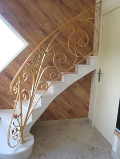 1000 id es sur le th me rampe escalier fer forg sur pinterest escalier fer rampe escalier et for Peinture sur fer forge
