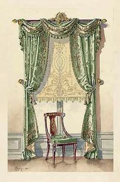 french drapery window curtains | CURTAINS AND WINDOWS « Blinds, Shades, Curtains