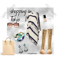 """""""Shopping in Tokyo"""" by furettina on Polyvore"""