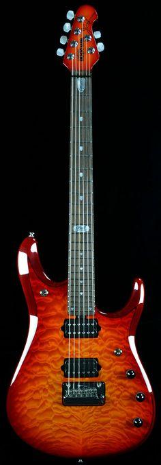 Wild West Guitars : Music Man John Petrucci Ball Family Reserve 6 - Cherry Burst