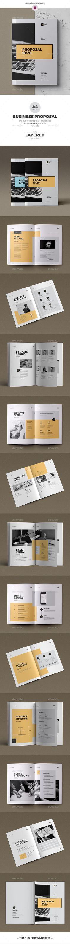 Propsoal - Proposals & Invoices Stationery