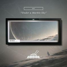"Print ""Under a Marble Sky"" - #digitalart #digitalartist #artprint #artprints #picoftheday #art #digitalpainting #instaart #conceptart #fantasy #digital #designsheriff #graphicdesign #thedesigntip #simplycooldesign #wacom #wacomtablet #photobash"