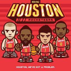 Houston 'Rocketeers' Art