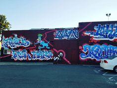"""Some graffiti and a old statue in downtown Santa Rosa, CA. Can't believe it has already been a week. #TimeFlies #SantaRosa #CA #TravelGram #Graffiti #Statue #Photography #MobilePhoto #MobilePhotography #PhotoOfTheDay #PictureOfTheDay #CaliGram"" by @jamesz303. #fslc #followshoutoutlikecomment #TagsForLikesFSLC #TagsForLikesApp #follow #shoutout #followme #comment #TagsForLikes #f4f #s4s #l4l #c4c #followback #shoutoutback #likeback #commentback #love #instagood #photooftheday #pleasefollow…"