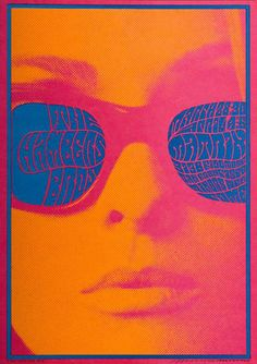 Chambers Brothers, Matrix, San Francisco, 1967 by Victor Moscoso