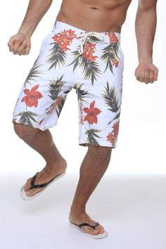 BOARDSHORT YATCH TROPICANA FLOWERS