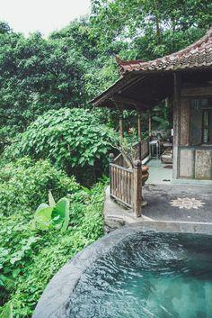 Paradise in Ubud, Bali! At villa awang awang