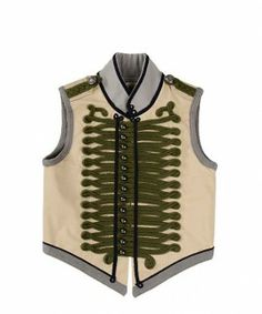 Cool waistcoat for boys and girls by Stella McCartney kids, love it!