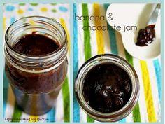banana chocolate jam
