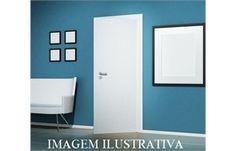Folha de Porta Lisa para Pintura 60cm Ref: Virola - Vert