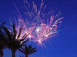 How to get your holidays off with a bang: Hotel guests can now create their own FIREWORKS display with an app | Daily Mail Online