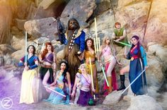 Jedi Princesses Together At Last [Cosplay]