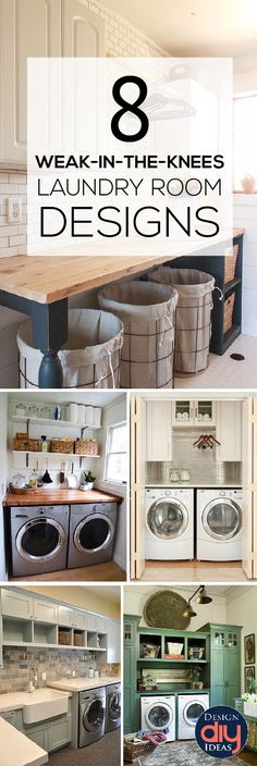 Ok, let's be honest. The laundry room is not the most glamorous space in the house. It's not somewhere most... Read more » - Home Decor Styles
