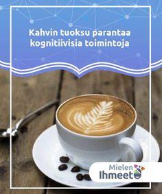 Kahvin tuoksu parantaa kognitiivisia toimintoja   Kahvin tuoksu on nautinto ja se stimuloi meitä. Ei ole mitään miellyttävämpää kuin kahvin tuoksu aamuisin. Se on nautinto kaikille aisteillemme.