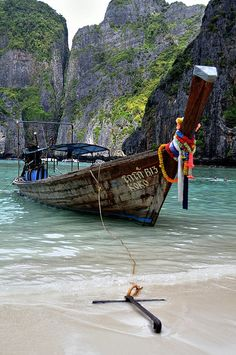 Phi Phi Islands, Thailand Hope to go back one day Places Around The World, Oh The Places You'll Go, Places To Travel, Travel Destinations, Places To Visit, Around The Worlds, Thailand Travel, Asia Travel, Maya Bay