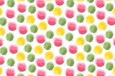 Seamless watercolor pink patterns by Alenarozova on Creative Market