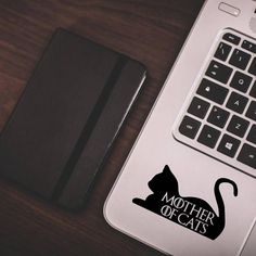 Game of Thrones inspired Pet Decal | Mother of Cats Car Vinyl Laptop Decal Sticker | Game of thrones