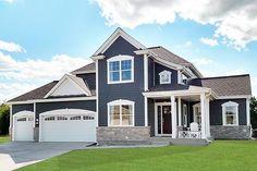The Monterey Model Home in Weyerhaven located in Menomonee Falls, WI.