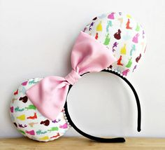 Planning a Spring trip to Disney? Check out these Disney Princess Minnie Ears