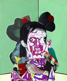 Original Children Collage by Pascal Marlin Mixed Media Canvas, Mixed Media Collage, Collage Artists, Collages, Art En Ligne, Art Original, Art Moderne, Painted Paper, Oeuvre D'art
