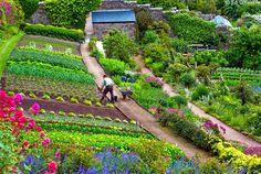 Inverewe Garden is a botanical garden in the Scottish Highlands,