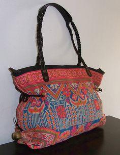 vintage fabric - thailand purse.