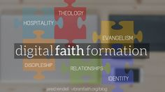 Seeing so many echoes of the themes addressed at #eform15 in Vibrant Faith's series on digital faith formation.