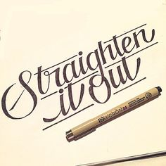 #StraightenItOut #PeteRockCLsmooth #MeccaAndTheSoulBrother #HipHop #Classic #typography #Design #goodtype #TheDailyType #typegang #typographie #handmadefont #fontfiend
