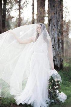 Blusher Sheer Soft Tulle Cathedral Bridal Veil In Ivory – BestWeddingVeil Wedding  Veils ab53d1999ad5