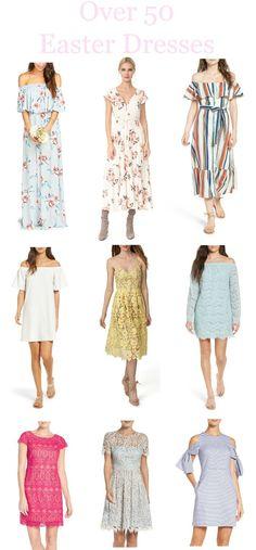 Over 50 Easter Dresses for Easter Sunday