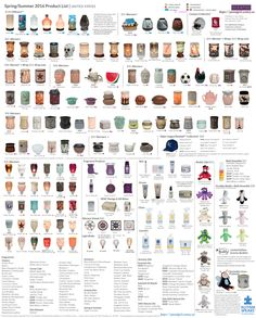 Scentsy Spring Summer 2016 Product List. Products available March 1, 2016 at https://postalgirl.scentsy.us. Open in new window for larger image. Element warmers are marked to best of knowledge.