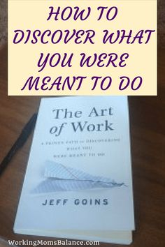 Are you struggling to find meaning and purpose in your life? Do you wonder what in the world you were created for? Are you tired of trading hours for dollars and feeling like you will never get anywhere in life? Jeff Goins' book, The Art of Work can radically transform how you look at your work and your purpose to help you discover what you were created to do and how to start doing it.